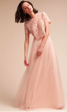 40bcdebbe BHLDN Louise Tulle Skirt by Jenny Yoo Bridesmaid Dress | Used, Size ...