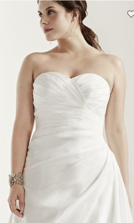 Ruched Mermaid Wedding Dress Is A Taffeta Design With Strapless Sweetheart Neckline Bodice Provides Ample Attention To Detail While Ed