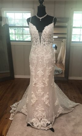 Maggie Sottero Tuscany Lynette Wedding Dress | Sample, Size: 14, $875