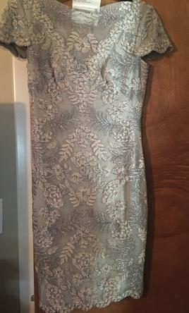 a05cd9f8f71 Pin it Add to  Tadashi Shoji SS Embroidered Lace Dress 2