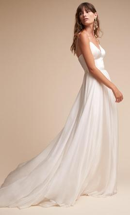 9f181f1d0aab5 Catherine Deane Kameron Gown Wedding Dress | New (Un-Altered), Size ...