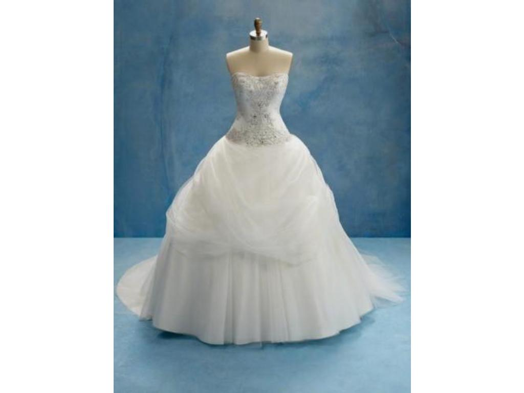Alfred Angelo 206 Belle 539 Size 22w New Un Altered Wedding