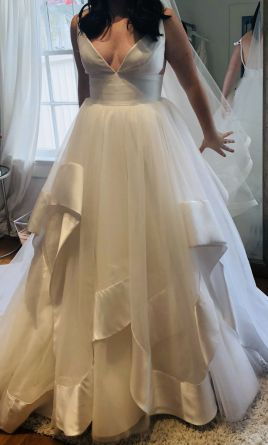 Hayley Paige Andi 1500 Size 12 New Un Altered Wedding Dresses