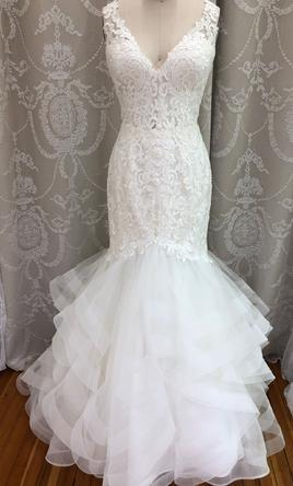 684fe83118b3 Mori Lee Kayla / 8224 Wedding Dress | New (Un-Altered), Size: 12, $899