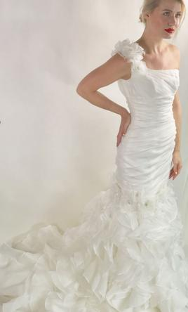 Alfred Sung 6853 Wedding Dress New Size 4 999