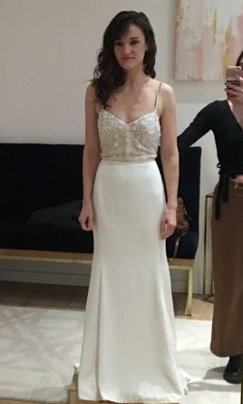3d87d7317d4396 Watters Irene Wedding Dress | New (Un-Altered), Size: 8, $800