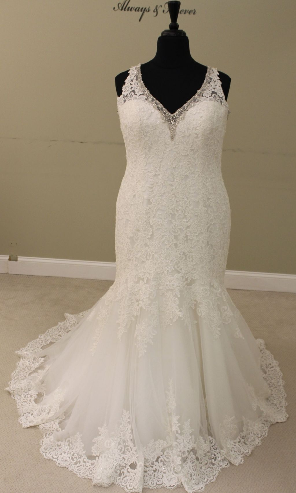 5b9d2f887c Mori Lee 3204 Wedding Dress | Sample, Size: 22, $515