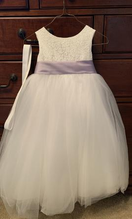 21b8eb3b86d David s Bridal. Ball Gown Flower Girl Dress ...
