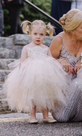 399f9c342d9 Other. Somsi Couture Bianca Flower Girl Dress