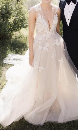 a34da56a03c0d Monique Lhuillier Rachelle, $4,500 Size: 4 | Used Wedding Dresses