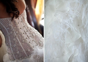PreOwnedWeddingDresses.com Real Weddings | Photo: Duet Wedding Photography