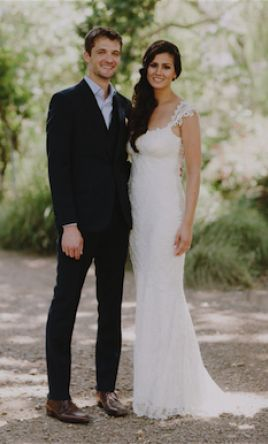 Real weddings by wedding dress designer claire pettibone enzoani real weddings junglespirit Gallery